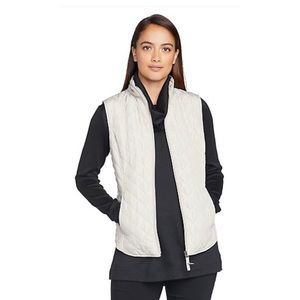 Van Heusen Quilted Vest in White